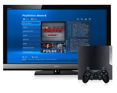 PlayStation®Store para o sistema PlayStation®3